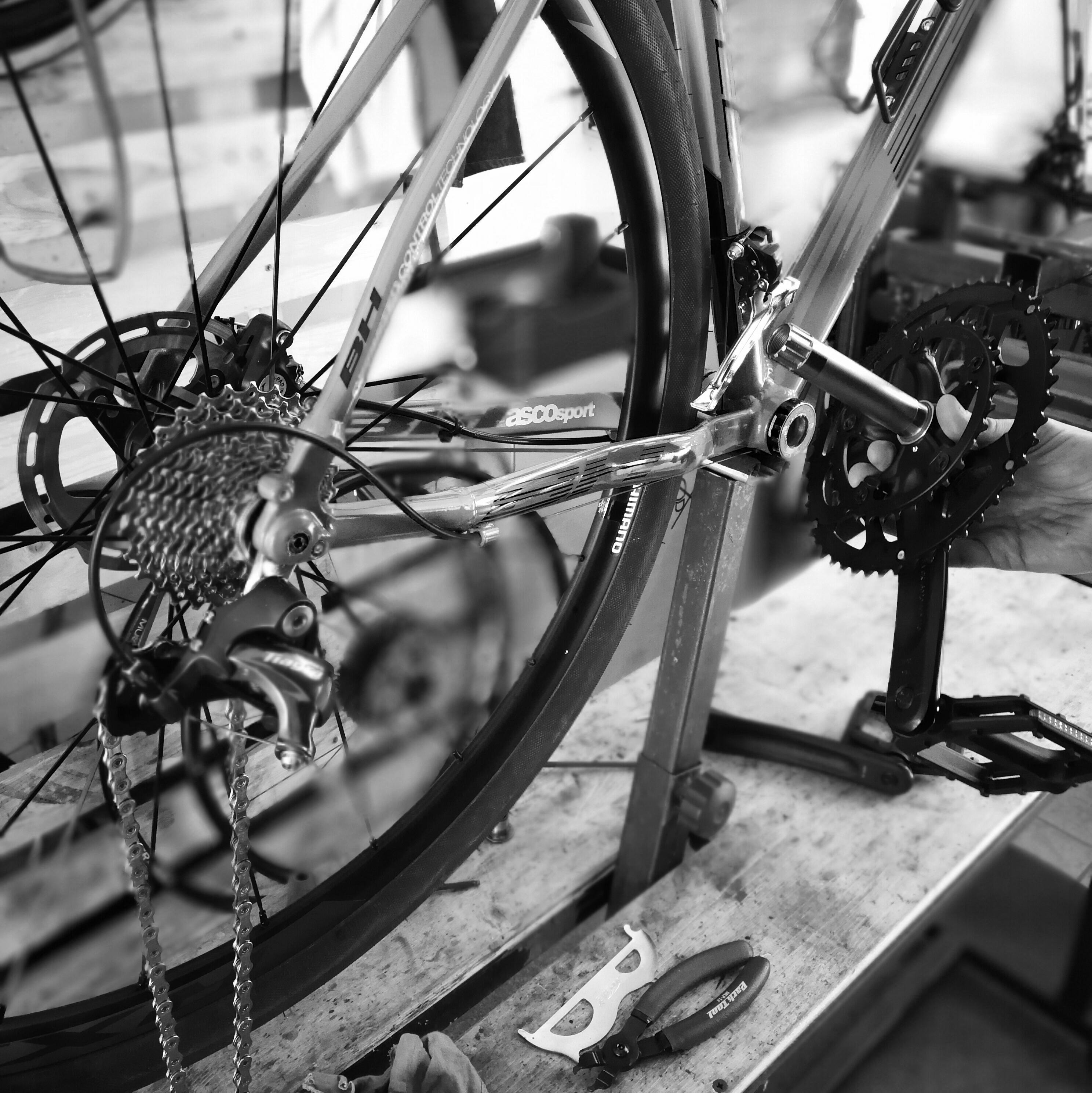 riparazione e manutenzione della trasmissione bici by Palo Alto bikes